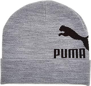 PUMA Men's Archive Logo Beanie, Grey (Medium Grey Heather 02), Adult