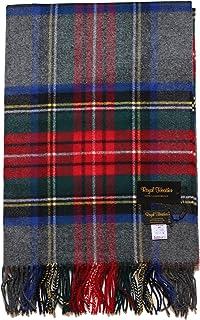 【正規取扱店】Johnstons ジョンストンズ ラムズウールブランケット(WD000127 Royal Heather Johnstons LAMBSWOOL BLANKET)