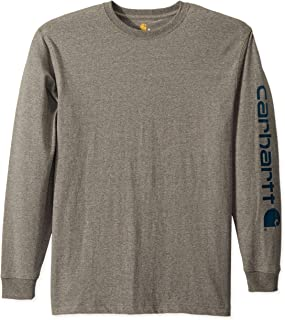 Men's Signature Logo Long Sleeve T Shirt K231