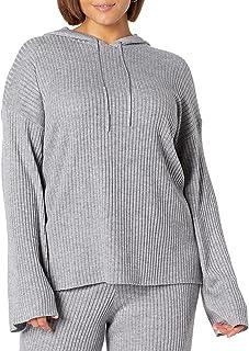 The Drop Women's Clancy Drawstring Hoodie Sweater