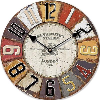 Perla PD Diseño reloj de pared Reloj de cocina vintage