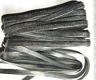 Silver Metallic Middy Braid Cord 1/4