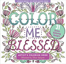 Color Me Blessed Inspirational Adult Coloring Book (31 stress-relieving designs) (Studio Series Artist's Coloring Book) PDF