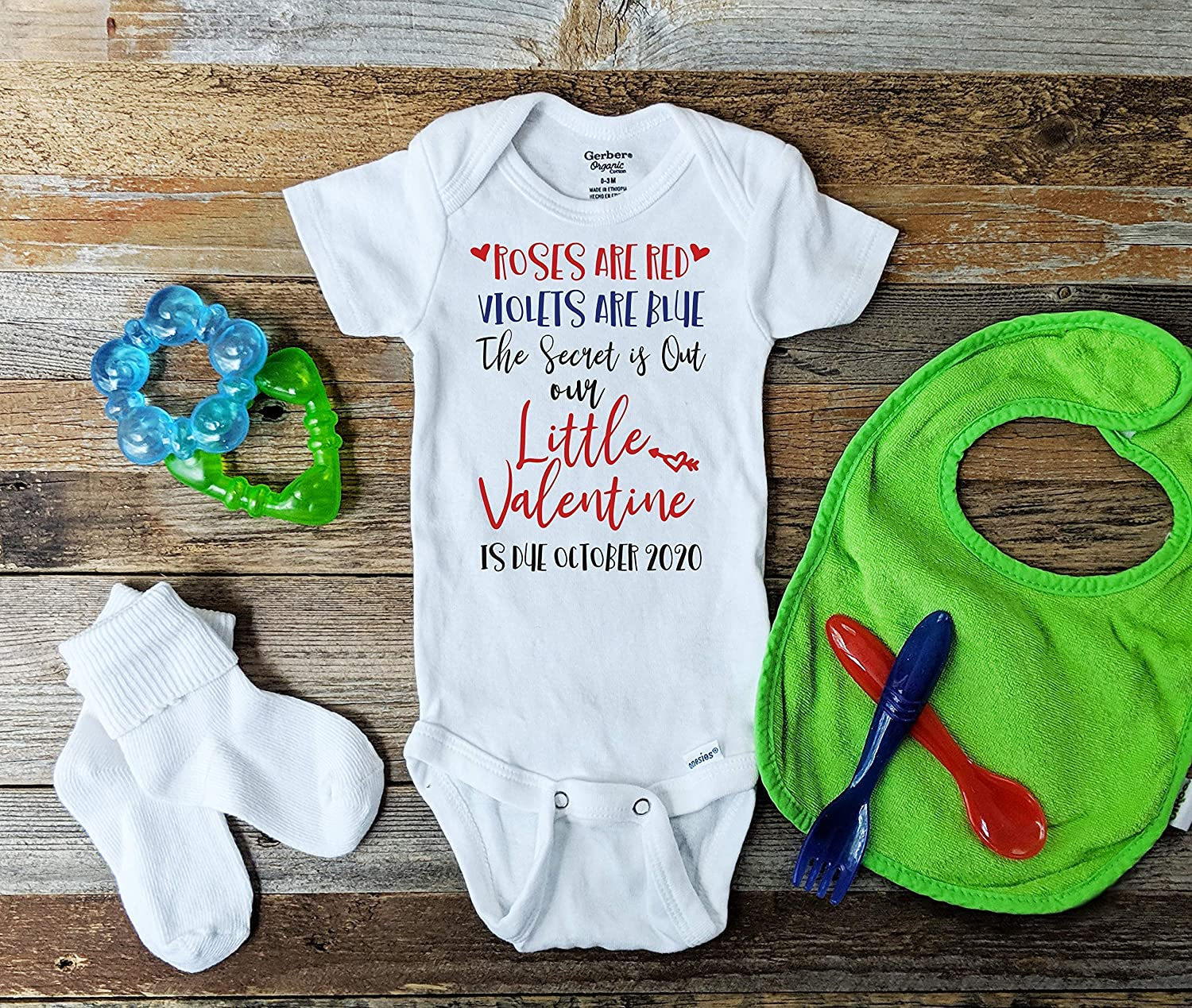 Dedication Milwaukee Mall Roses are Red Valentine's Day Announcement Pregnancy Reveal Baby