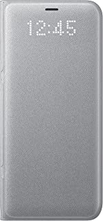 Samsung LED View Case for Galaxy S8 - Silver