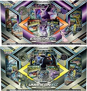 Pokemon Trading Card Game Set - Espeon GX Premium Collection and Umbreon GX Premium Collection