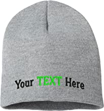 Personalized Knit Caps