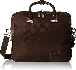 Calvin Klein Dylan Laptop Case, Brown, One Size