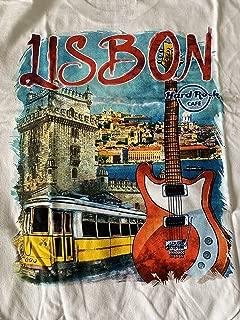 Hard Rock Cafe New HRC Lisbon - Lisboa (Portugal) City Tee White T-Shirt