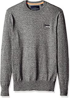 Superdry Men's Orange Label Vee Knit Jumper