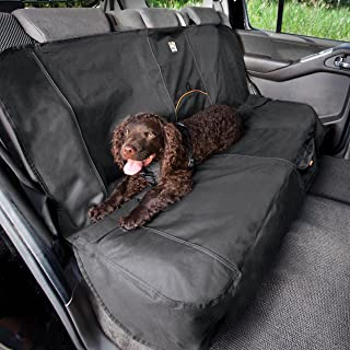 Kurgo Dog Seat Cover | Car Bench Seat Covers for Pets | Dog Back Seat Cover Protector | Water Resistant for Dogs | Contain...