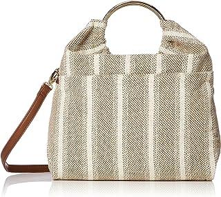 [パスディス] リングストライプ2WAYバッグ 金手 袋物