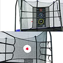 Skywalker Trampolines Game Kit w upper bounce back and triple toss games