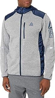 Reebok Mens Outerwear Jacket Down Alternative Coat - Multi