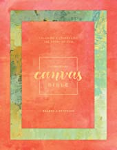 The Message Canvas Bible (Hardcover, Spring Palette): Coloring and Journaling the Story of God