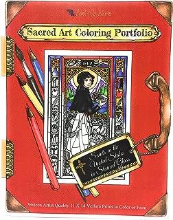 Sacred Art Coloring Portfolio - Saints of The USA