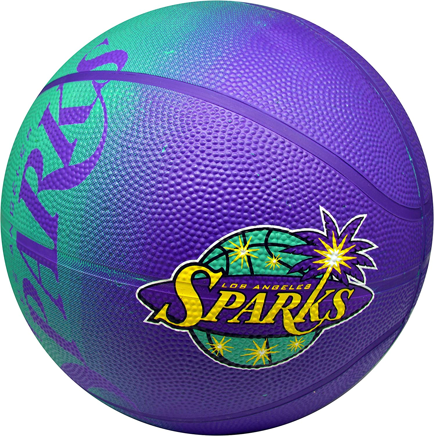 Spalding Ranking TOP5 NBA WNBA Los Angeles Sparks Logo Rubber 5% OFF Colors And Team