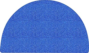 Nicoman Moon Easy-Clean & Dirt-Trapper Barrier Half Circle Non-Shedding & Jet-Washable Outdoor Spaghetti Doormats|A Practi...