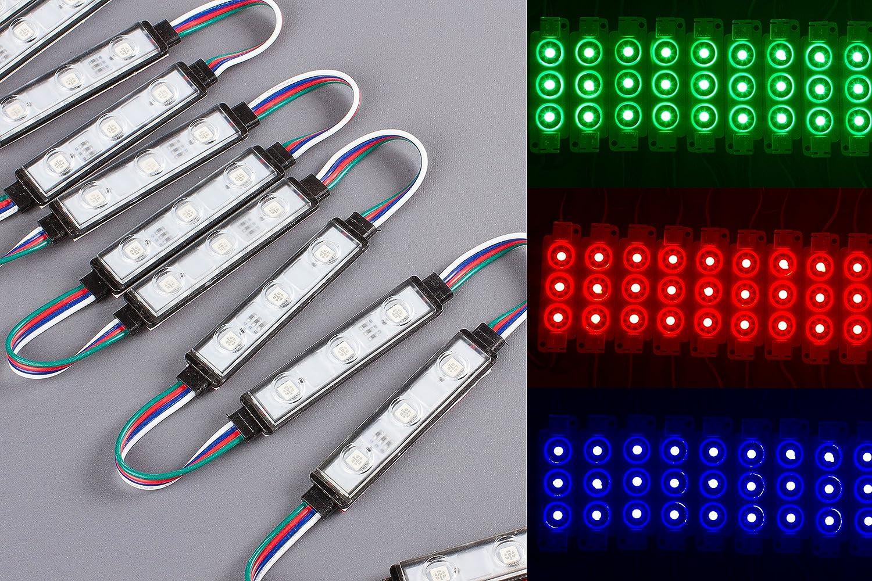 LEDupdates List price Storefront Window RGB LED light Black Cheap SALE Start Module Series C