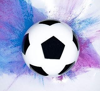Pelota revelación de género de Futbol/soccer gender reveal/pelota reveladora/revelación de sexo/con 2 bolsas de polvo 1 az...