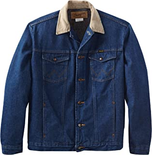 wrangler blanket lined denim jacket