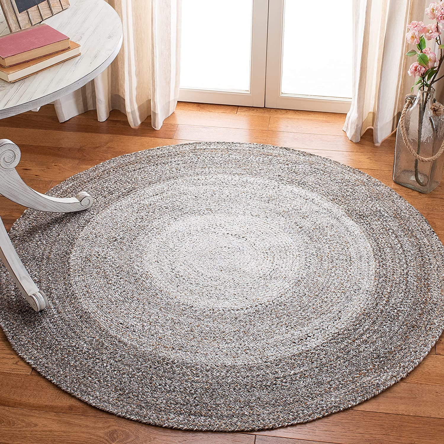 Safavieh Braided Manufacturer regenerated product Collection BRD802T Rev Cottage Handmade Country 5 ☆ very popular