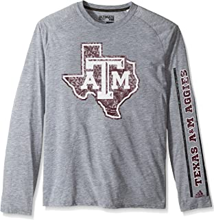 adidas Texas A&M Aggies NCAA Play to Win Men's Climalite Long Sleeve T-Shirt