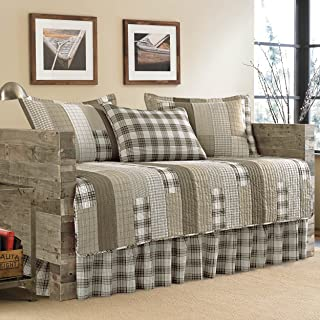Eddie Bauer Fairview 5-Piece Daybed Cover Set, Twin, Sand