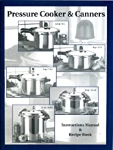 Mirro or Kitchen Pro Pressure Cooker and Canners Instructions Manual and Recipe Book