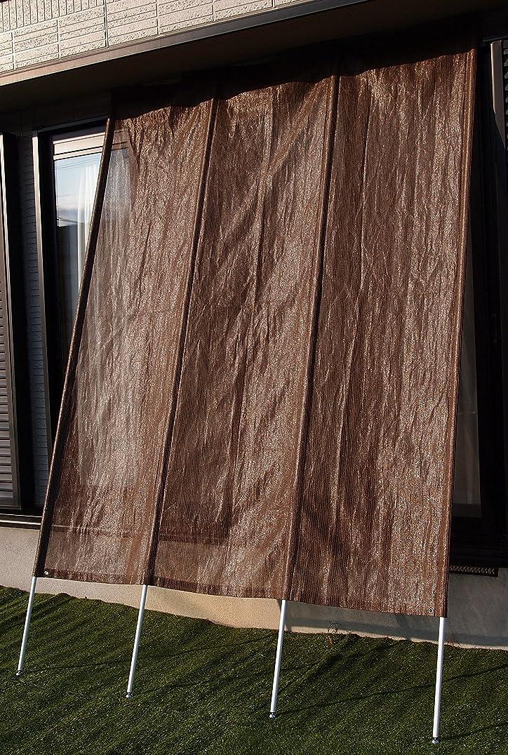 ベーリング海峡見物人手FIELD PARTNER 洋風たてす ブラウン 290×260~300cm