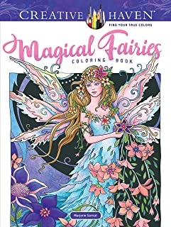 Adult Coloring Book Creative Haven Magical Fairies Coloring Book (Creative Haven Coloring Books)