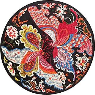 Kesheng Japanese Embroidered Fish Patches Iron on 11x11.6