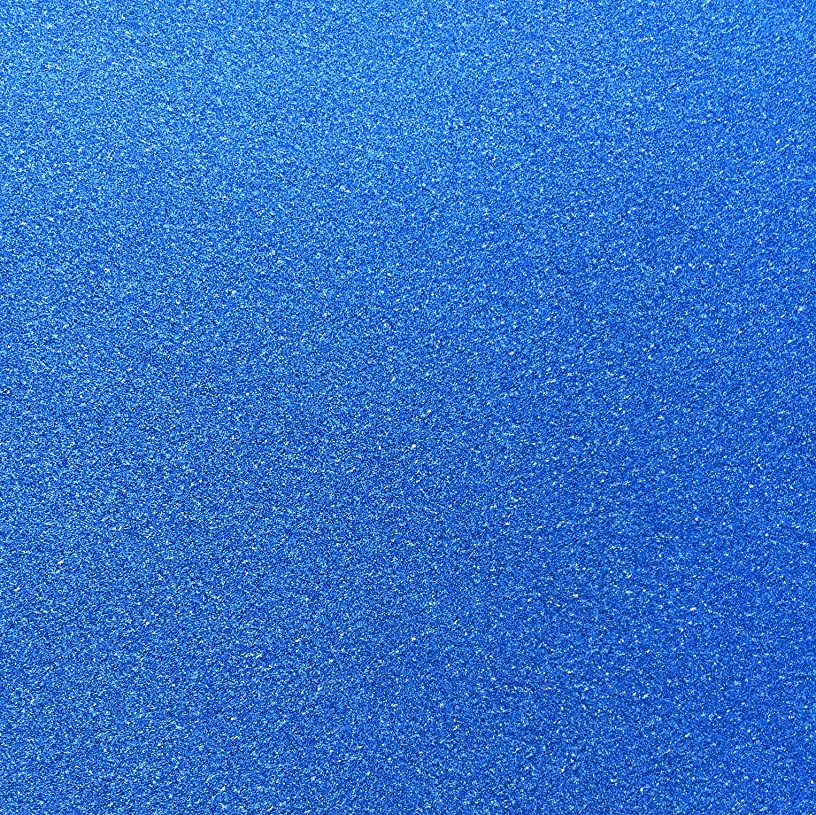 TooMeeCrafts 11-inch by 8-inch Glitter Cardstock, Bright Blue Color,Pack of 10