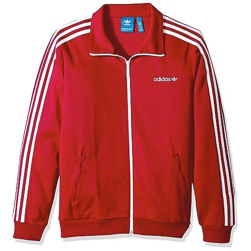 Red Adidas Originals Jacket