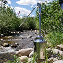 8 Gallon Stainless Steel Reflux Still for Home Whiskey and Moonshine Distillation
