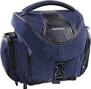 Mantona Premium torba na aparat, niebieska