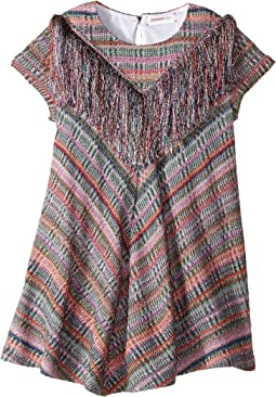 Lame Check Dress (Toddler/Little Kids)