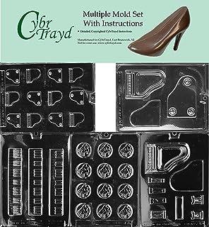 Cybrtrayd 5 Piano-Themed Chocolate Molds Bundle