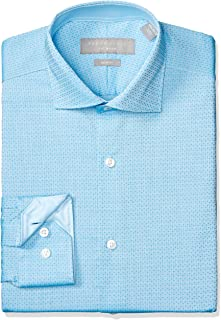 Perry Ellis Men's Slim Fit Performance Non-Iron Dress Shirt