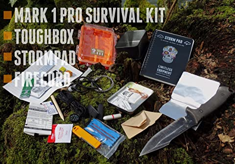pocket size UK MADE pro level gear. Limitless Equipment® MARK 1 Survival Kit
