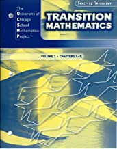 UCSMP Transition Mathematics, Teaching Resources: Volume 1, Chapters 1-6