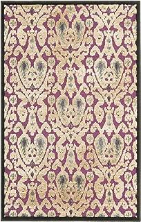 Safavieh Paradise Collection PAR157-2380 Anthracite and Fuchsia Viscose Area Rug (3'3
