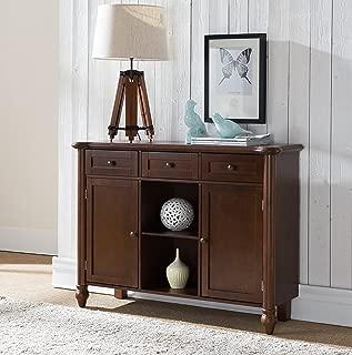 Kings Brand Furniture Wood Sideboard Buffet Cabinet Console Table, Walnut