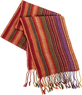 Women's HAND MADE 100% Alpaca Lightweight Shawl Scarf Fashion Accessory Colors May Vary