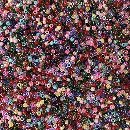 Amazon Com Miyuki Delica Seed Beads 11 0 Colorful Super Glass Bead Mix Made In Japan Arts Crafts Sewing