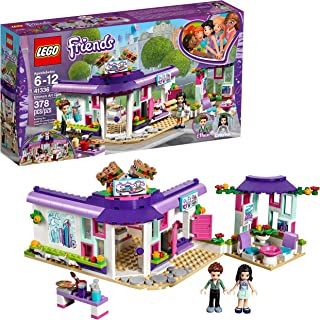 LEGO Friends Emma's Art Café 41336 Building Set (378 Pieces)