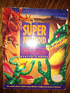 Super Metroid Nintendo Player's Strategy Guide