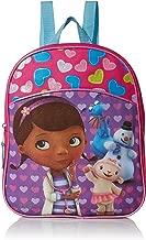 Disney Girls' Doc McStuffins Miniature Backpack, HOT PINK/PURPLE/BLUE