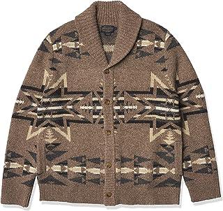 Men's Shetland Shawl Cardigan Sweater