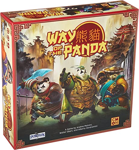 Asmodee CMNWPA001 Way of The Panda, Mehrfarbig